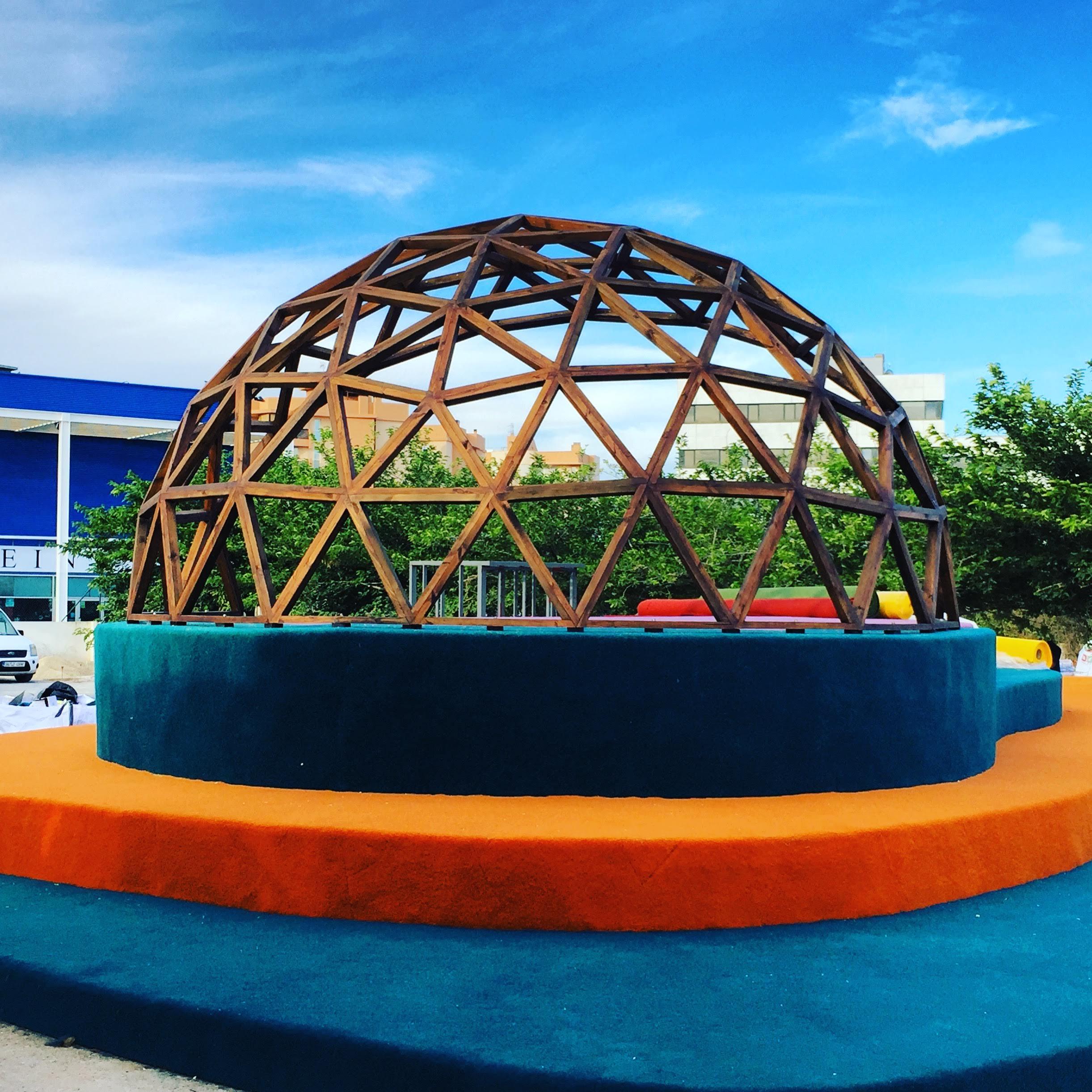 Cupula domo parc de s illa