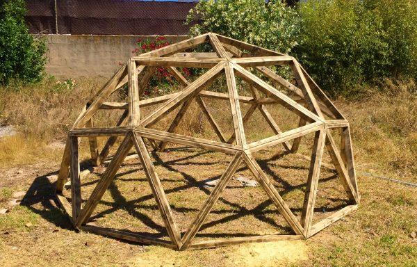 cupula geodesica F2 parque